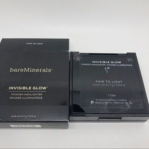 bareMinerals Invisible Glow FAIR TO LIGHT- Powder